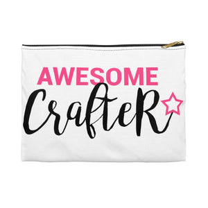 Awesome Crafter Accessory Pouch
