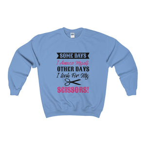 Somedays I Amaze Myself Other Days I Look For My Scissors Unisex Heavy Blend™ Crewneck Sweatshirt
