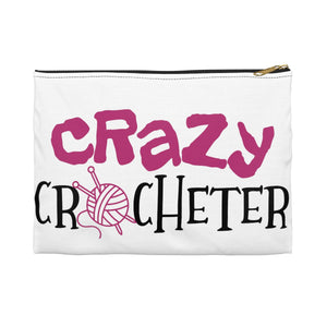 Crazy Crocheter Accessory Pouch