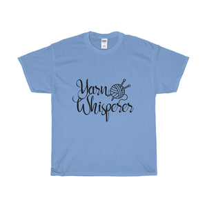 Yarn Whisperer Unisex Heavy Cotton Tee
