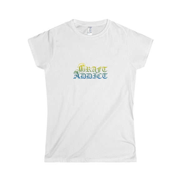 Craft Addict Women's Softstyle Tee