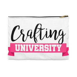 Crafting University Accessory Pouch