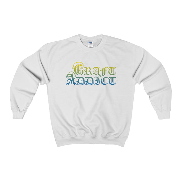 Craft Addict Unisex Heavy Blend™ Crewneck Sweatshirt