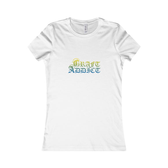 Craft Addict Women's Favorite Tee