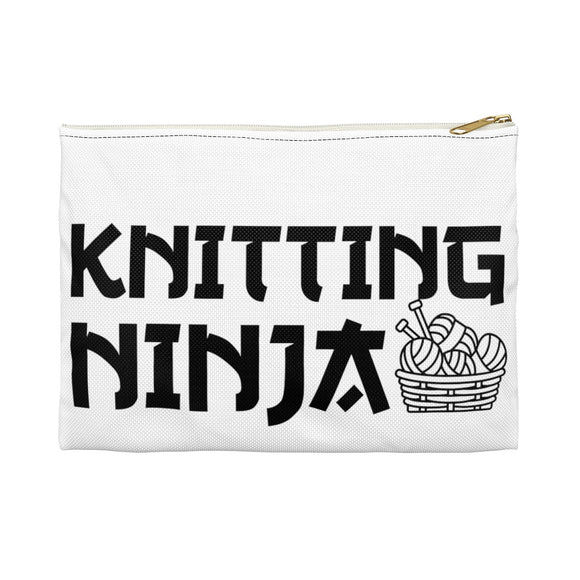 Knitting Ninja Accessory Pouch