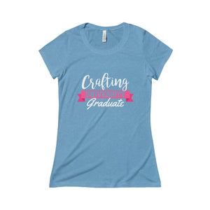 Crafting University Graduate Triblend Short Sleeve Tee