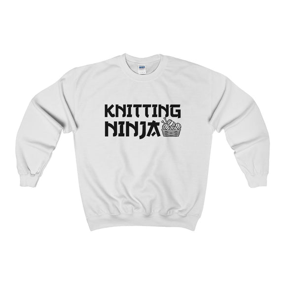 Knitting Ninja Unisex Heavy Blend™ Crewneck Sweatshirt