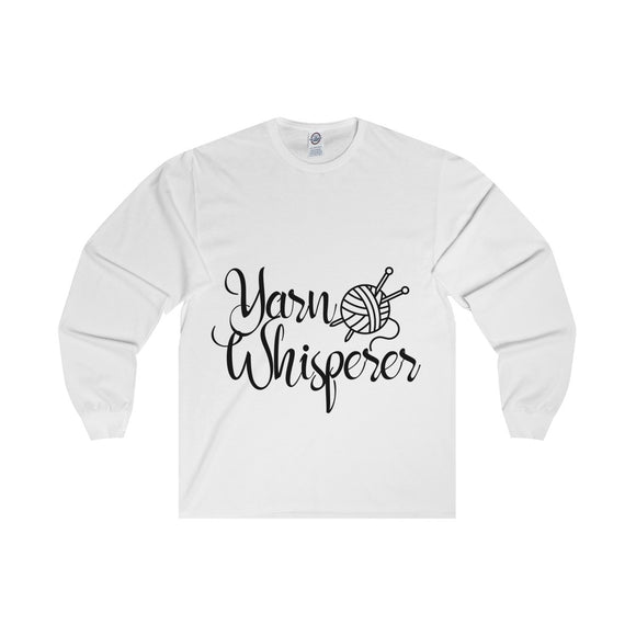 Yarn Whisperer Unisex Long Sleeve Tee