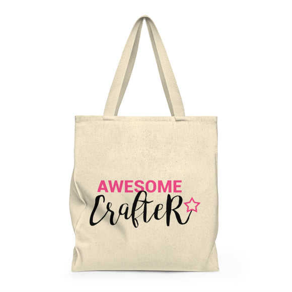 Awesome Crafter Shoulder Tote Bag - Roomy