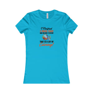 I Finished 3 Books Today... Women's Favorite Tee