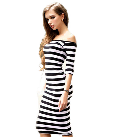 2018 Bandage Women Dress Sexy Knee Length Female Bodycon Clothes