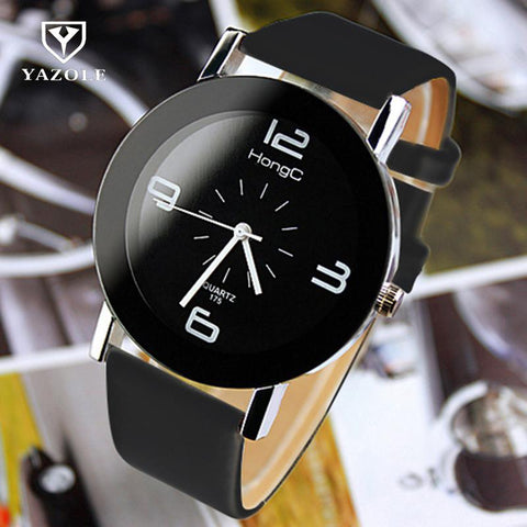 Fashion Wristwatch Fashionable Unique Leather Watchband Watch