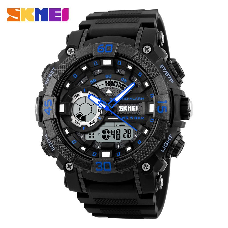 watch waterproof wristwatch military masculino watches men sport full chronograph infantry relogio quartz luminous steel products mens