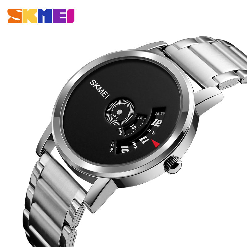 brand men simple rainbow pu wristwatch clock geneva fashion watches business relogio wrist products leather top women watch
