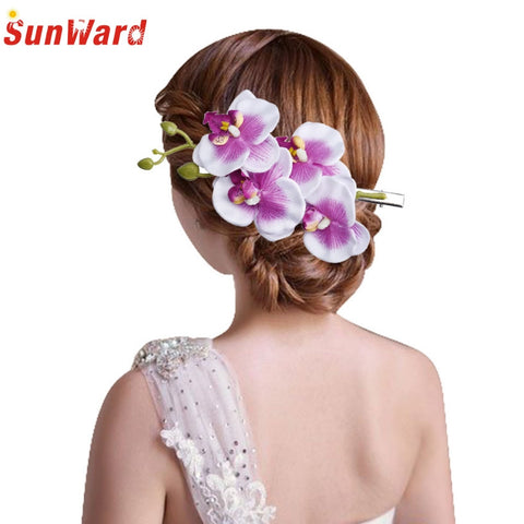 Amazing Bohemia Flower Hair Clip for Womens Hairpin Bridal Party