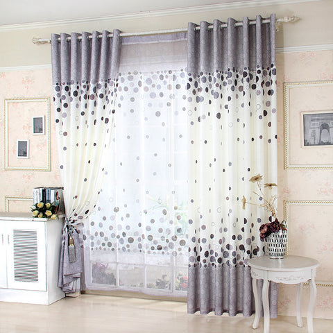 3D Luxury Window Curtains for Living Room Voile Sheer Curtains for Bedroom Kitchen