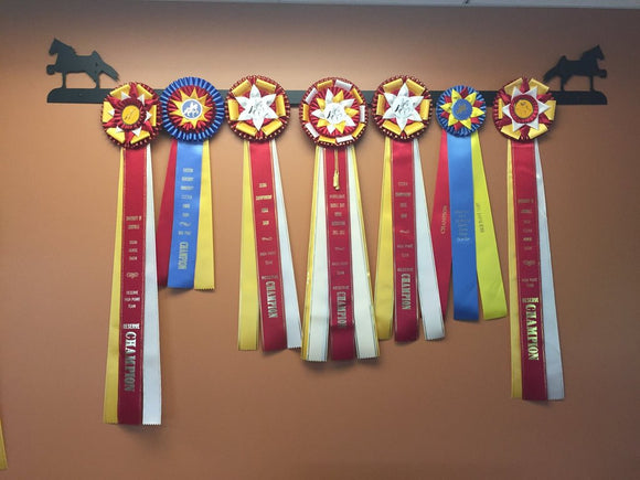 Equestrian Ribbon Racks