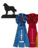 Showoff Ribbon Rack - Bernese Mountain Dog - Wall Rack