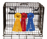 Showoff Ribbon Rack - Bloodhound - Kennel Rack
