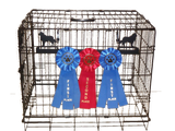 Showoff Ribbon Rack - Bernese Mountain Dog - Kennel Rack