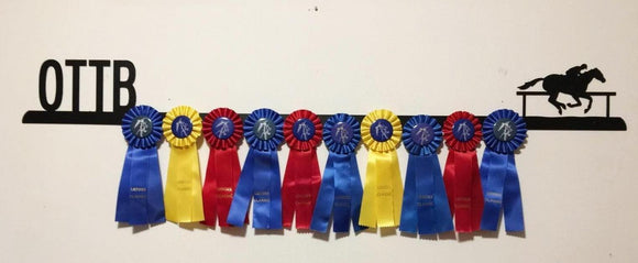 Showoff Ribbon Rack - Off Track Thoroughbred - Wall Rack