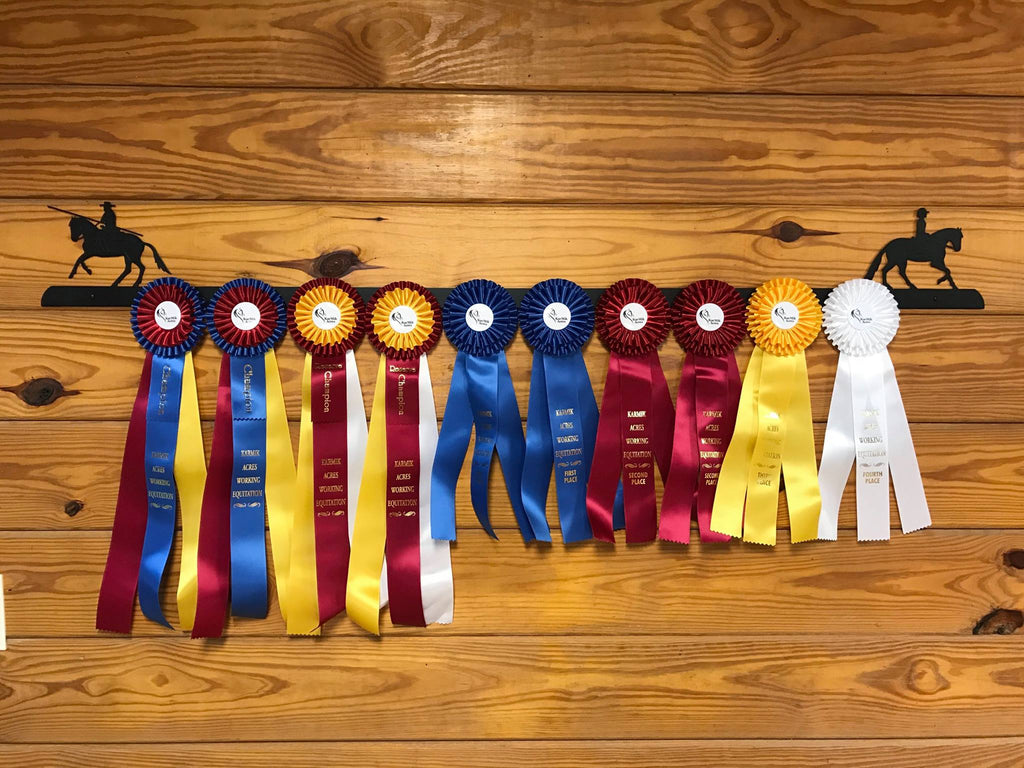 Showoff Ribbon Rack - Working Equitation