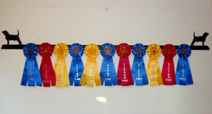 Showoff Ribbon Rack - Beagle - Wall Rack