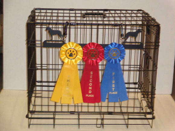 Showoff Ribbon Rack - Belgian Malinois - Kennel Rack