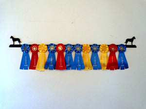 Showoff Ribbon Rack - Belgian Malinois - Wall Rack