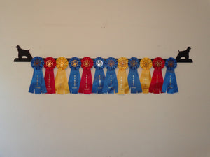 Showoff Ribbon Rack - Cocker Spaniel - Wall Rack