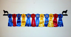 Showoff Ribbon Rack - Border Collie - Wall Rack
