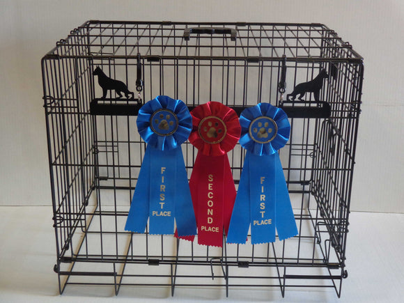 Showoff Ribbon Rack - German Shepherd - Kennel Rack