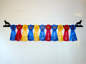 Showoff Ribbon Rack - German Shepherd - Wall Rack