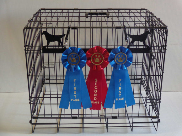 Showoff Ribbon Rack - Golden Retriever - Stall Rack
