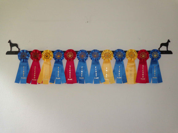 Showoff Ribbon Rack - Great Dane - Wall Rack