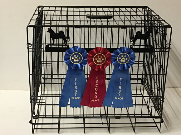 Showoff Ribbon Rack - Akita - Kennel Rack