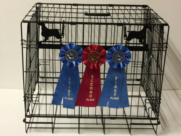 Showoff Ribbon Rack - Springer Spaniel - Kennel Rack