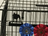 Showoff Ribbon Rack - French Bulldog - Kennel Rack