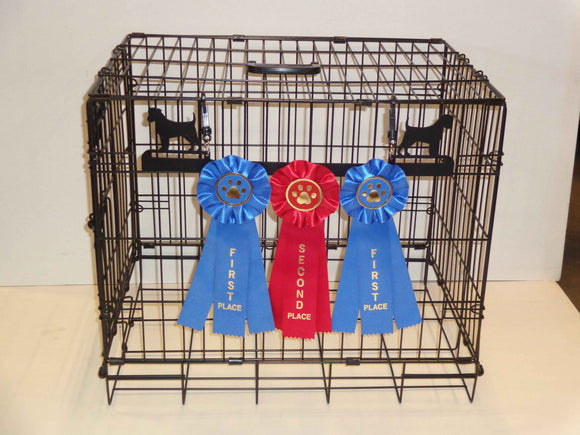 Showoff Ribbon Rack - Jack Russell Terrier - Kennel Rack