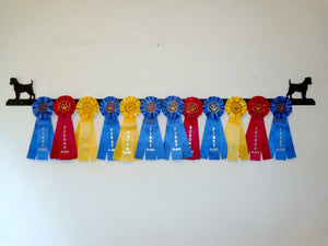 Showoff Ribbon Rack - Jack Russell Terrier - Wall Rack
