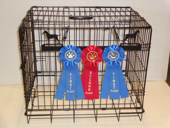Showoff Ribbon Rack - Pointer - Kennel Rack