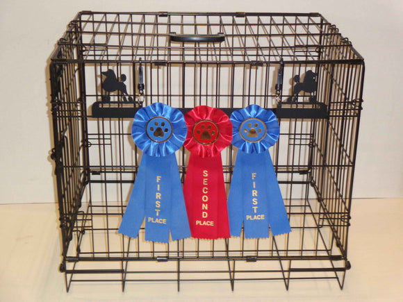 Showoff Ribbon Rack - Poodle - Kennel Rack