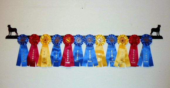 Showoff Ribbon Rack - Rottweiler - Wall Rack