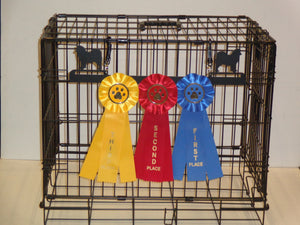Showoff Ribbon Rack - Samoyed - Kennel Rack