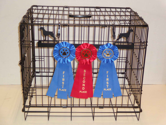 Showoff Ribbon Rack - Schnauzer - Kennel Rack