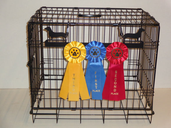 Showoff Ribbon Rack - Dachshund - Kennel Rack