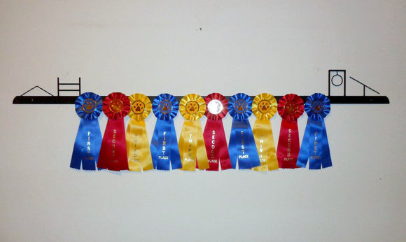 Showoff Ribbon Rack - Agility - Wall Rack