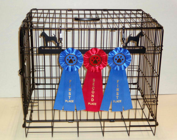 Showoff Ribbon Rack - Airedale - Kennel Rack