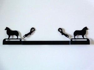 Showoff Ribbon Rack - Australian Shepherd - Kennel Rack