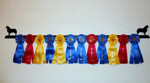 Showoff Ribbon Rack - Australian Shepherd - Wall Rack